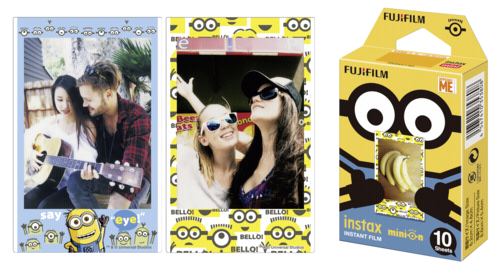 Fujifilm Instax Film mini Minion DMF