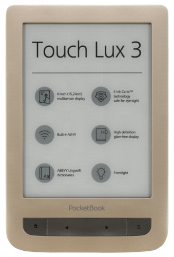 Pocketbook Touch Lux 3 gold