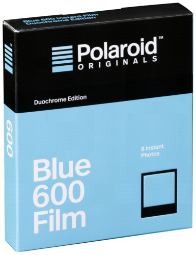 Polaroid 600 Duochrome Blue/Black Film