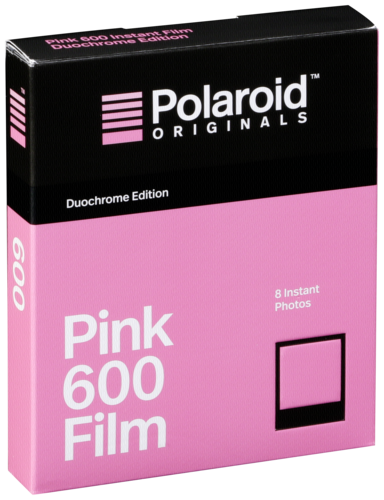 Polaroid 600 Duochrome Rose/Black Film
