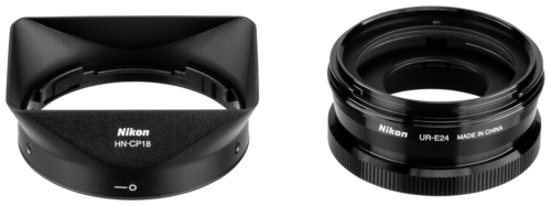 Nikon Lens Hood Set Black