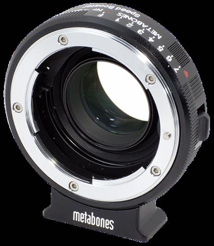 Metabones Speed Booster Nikon G to Blackmagic BMCC MFT