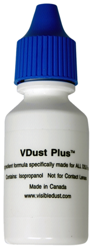 Visible Dust VDust Plus Cleaning Solution 15ml