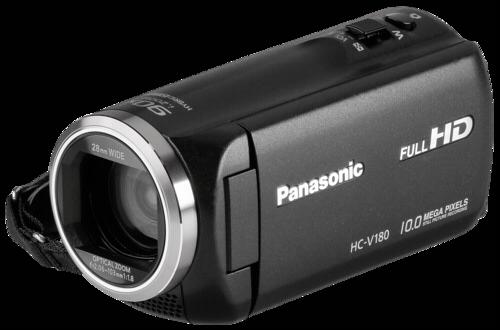 Panasonic HC-V 180EG Black