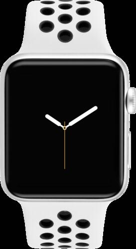 Apple Watch Nike+ GPS+ Cell 38mm Silver Alu Case Sport Band