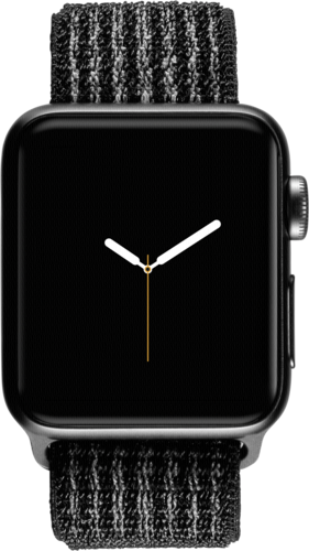 Apple Watch Nike+ GPS + Cell 38mm Space Grey Alu Case