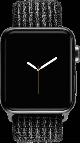 Apple Watch Nike+ GPS+ Cell 42mm Space Grey Alu Case