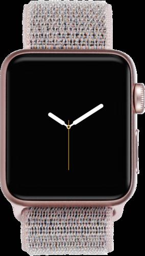 Apple Watch 3 GPS + Cell 38mm Gold Alu Case Pink Sandrosa Sport Loop