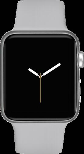 Apple Watch 3 GPS + Cell 42mm Silver Alu Case Fog Sport Band
