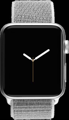 Apple Watch 3 GPS + Cell 42mm Silver Alu Case Seashell Sport Loop