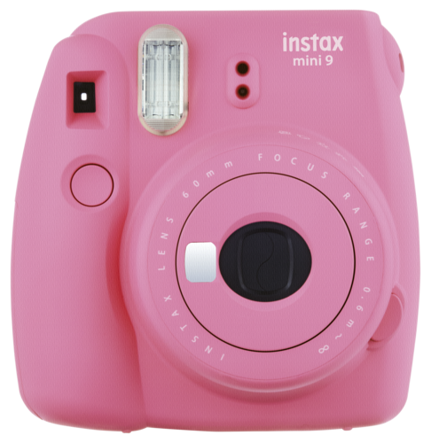 Fujifilm Instax mini 9 flamingo pink incl. 10 Shot Film Pack