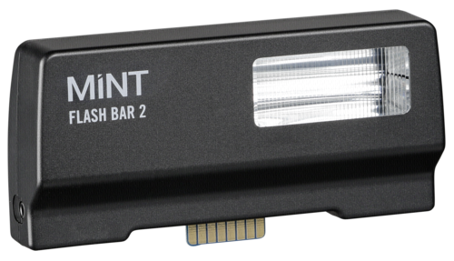 Polaroid Mint Flash bar