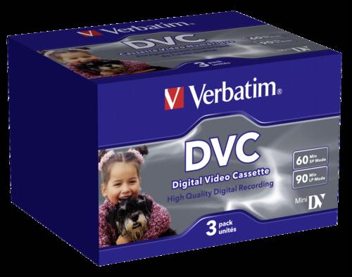 Verbatim mini DV/DVC 60min 1x3