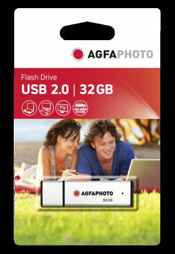 AgfaPhoto 32GB USB 2.0 Silver