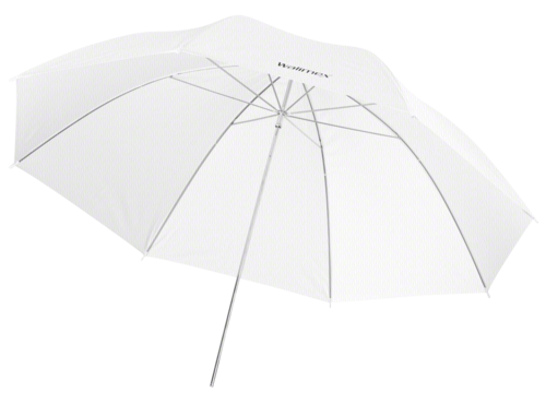 Walimex pro Translucent Umbrella white 109cm