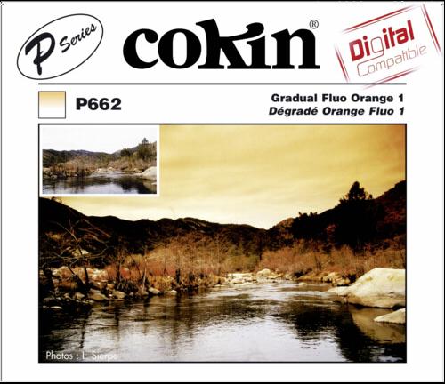 Cokin P662 Graduated Fluorescent Orange 01 Resin Filter