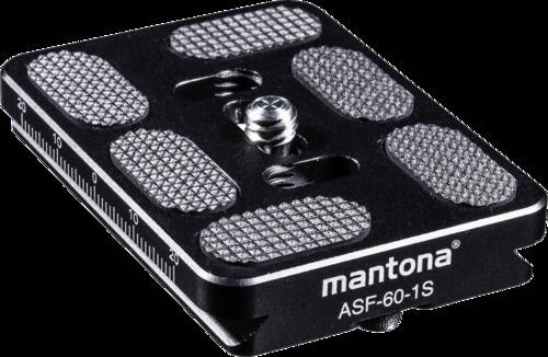 Mantona Fortress ASF-60-1S quick release plate
