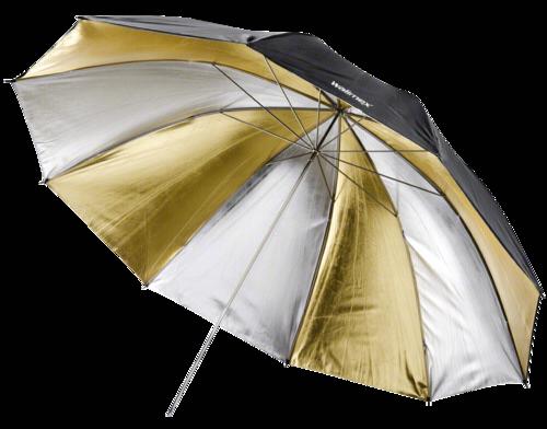 Walimex Reflex Umbrella Dual gold/silver 2 lay 150cm