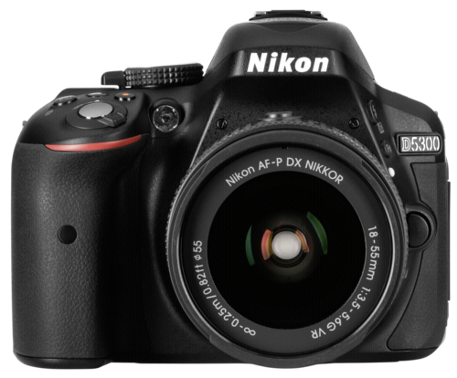 Nikon D 5300 Black Kit AF-P 18-55mm VR