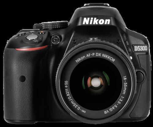 Nikon D 5300 Black Kit AF-P 18-55mm VR + Δώρο Τσάντα και SD 64GB