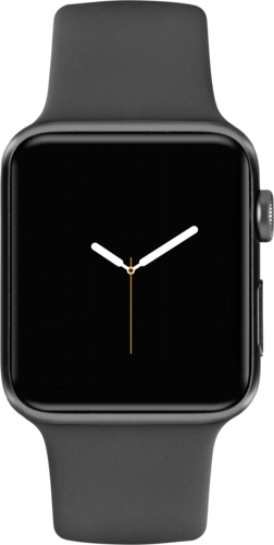 Apple Watch 3 GPS+ Cell 38mm Space Grey Alu Case Grey Sport Band