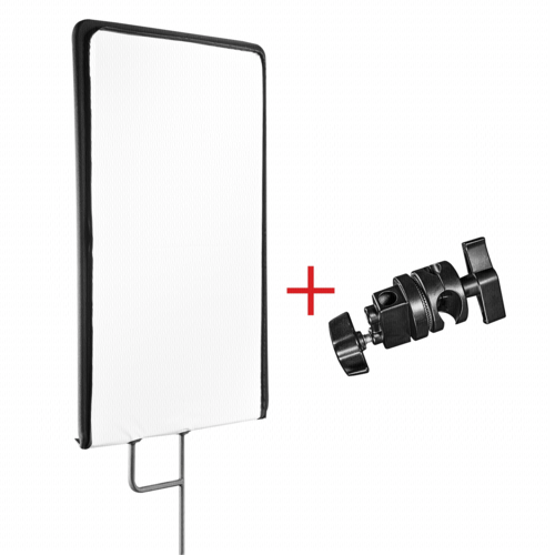 Walimex Pro 4 in1 Reflector Panel with 45x60cm + clamp