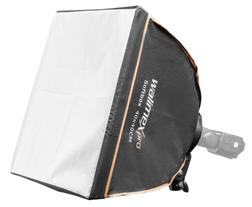 Walimex Pro Softbox 40x40cm Compact Flashes