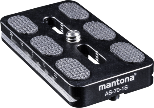 Mantona AS-70-1S quick release plate