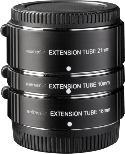 Walimex Pro Auto Extension Ring Set Fuji X