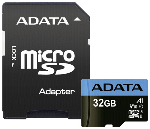 Adata Premier A1 microSDHC 32GB UHS-I with adapter