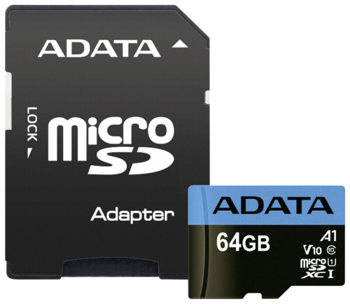 Adata Premier A1 microSDXC 64GB UHS-I with adapter