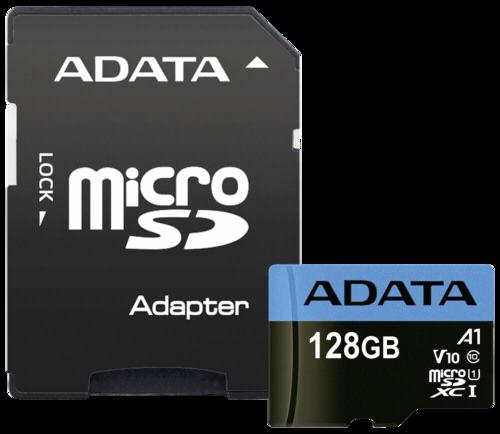 Adata Premier A1 microSDXC 128GB UHS-I with adapter