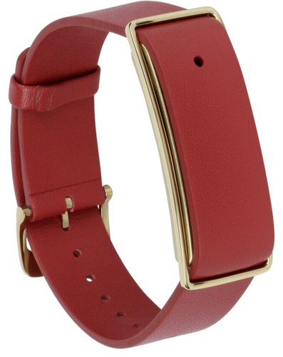 Huawei Color Band A1 leather bracelet red