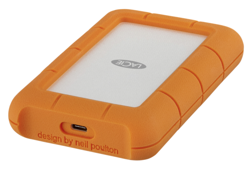 LaCie Rugged USB-C 5TB Mobile Drive