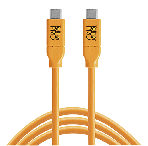 Tether Tools USB-C to USB-C 4.60m orange