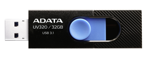 Adata Stick UV320 32GB Black/Blue USB 3.1