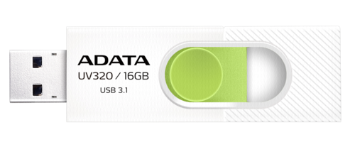 Adata Stick UV320 16GB White/Green USB 3.1