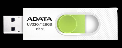Adata Stick UV320 128GB White/Green USB 3.1