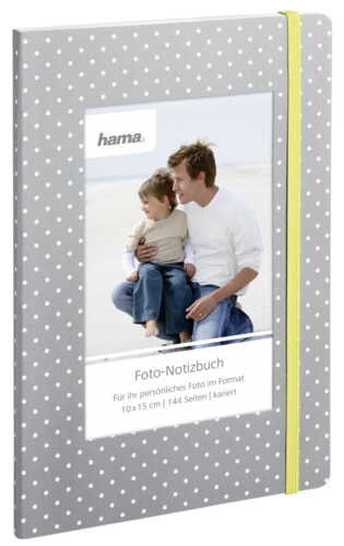 Hama Photo Notebook Isa 15x21 (144 checkered pages Dots)
