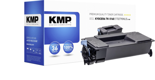 KMP K-T80 toner Kyocera TK-3160 black