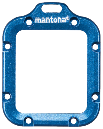 Mantona Lens Ring Blue GoPro Hero 3