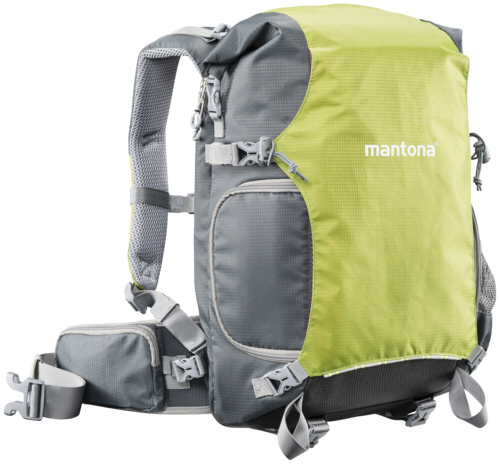 Mantona ElementsPro 30 Outdoor Backpack Green