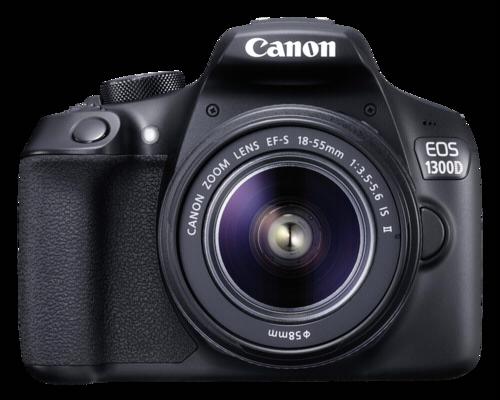 Canon EOS 1300D Kit EF-S 18-55mm IS + Δώρο τσάντα + SD 16GB + Cloth
