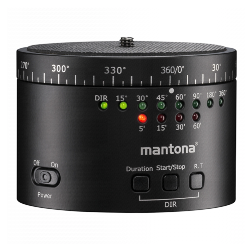 Mantona Turnaround 360 Automatic Tripod Head Rev. 2