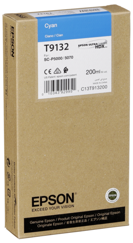 Epson Cartridge T9132 UltraChrome cyan
