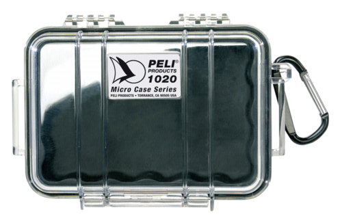 Peli Micro Case 1020 clear/transparent