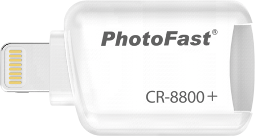 PhotoFast iOS Card Reader white