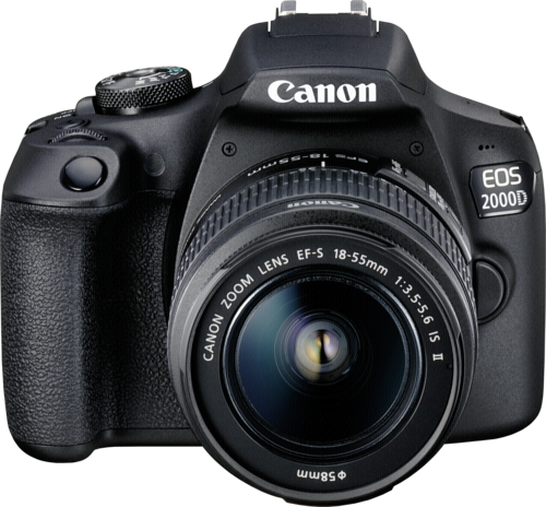 Canon EOS 2000D Kit EF-S 18-55mm IS II + Δώρο SD 16GB