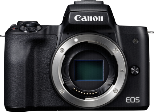 Canon EOS M50 Black Body + ΔΩΡΟ ΜΠΑΤΑΡΙΑ LP-E12
