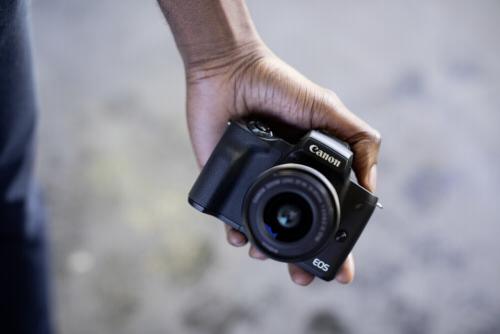 Canon EOS M50 Kit schwarz +